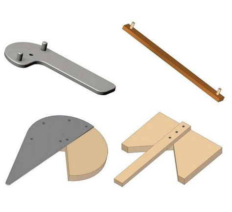 wood turning segmented fixtures jigs tips