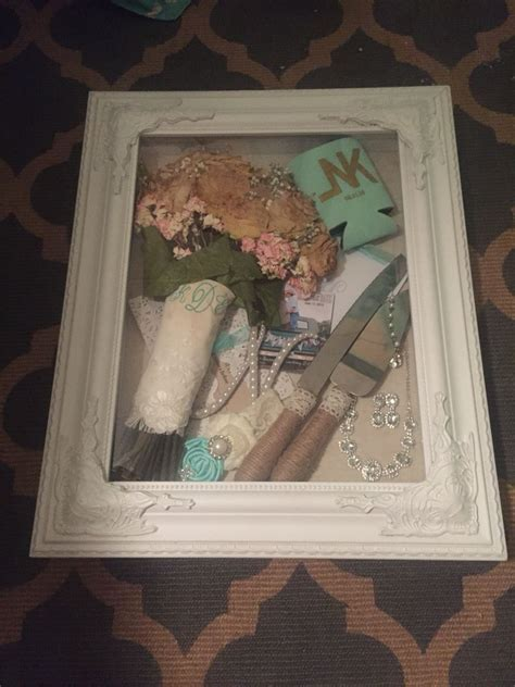 my wedding shadow box purchased from hobby lobby future mrs mcfadden in 2019 bouquet