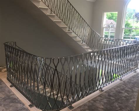 mirror polished stainless steel balustrade taylorhood metalworks