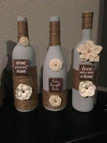 25 best ideas about decorating wine bottles on pinterest