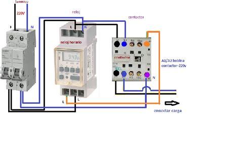 solucionado timer digital con contactor modular yoreparo