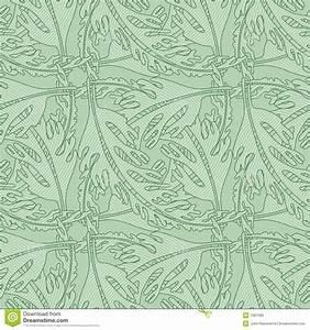 Glasfaser Tapeten Muster : nahtloses tapeten muster mit stilisiert bl ttern lizenzfreies stockbild bild 1587396 ~ Markanthonyermac.com Haus und Dekorationen