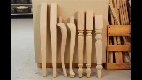 Wood Table Legs  Wood Table Legs  Youtube