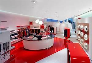 Uzumaki Interior Design: Fashion Store Interior Decorating