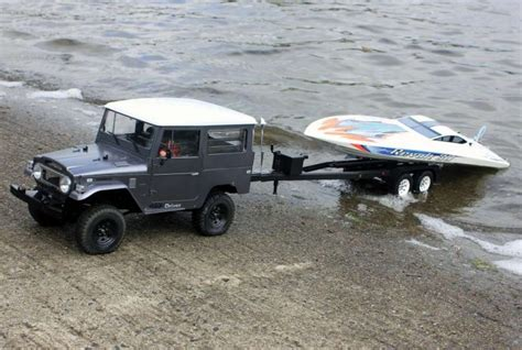 Rc Truck And Boat Trailer by 036 1