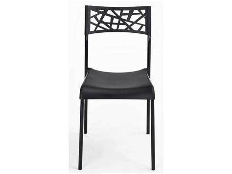 chaise martine coloris noir vente de chaise conforama