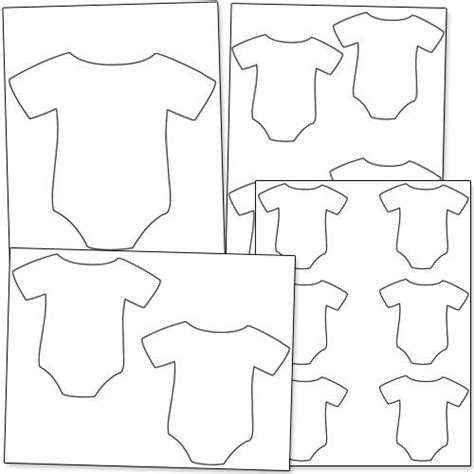 Baby Onesy Free Colouring Pages