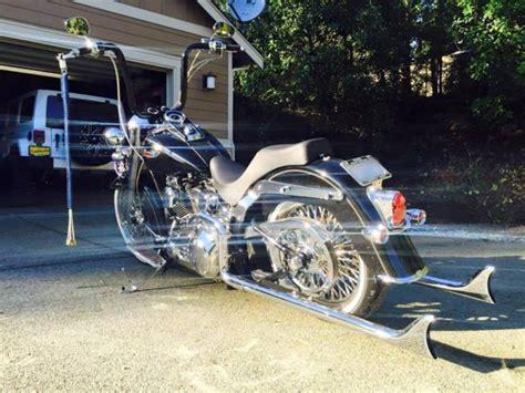 2006 Harley Davidson Softail Deluxe Flstni Bagger Vicla