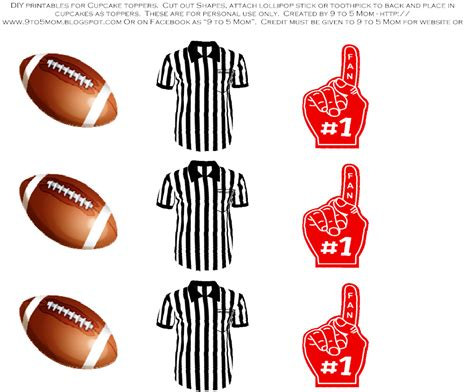 football tailgater printables     mom catch