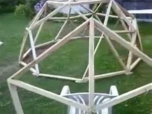 Geodätische Kuppel Bausatz : meine erste geod tische kuppel youtube ~ Michelbontemps.com Haus und Dekorationen
