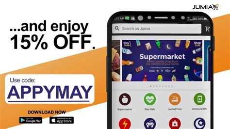 Download The Jumia App To Enjoy 15 Off Youtube