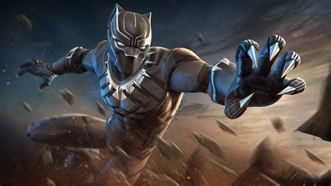 Black Panther Hd Wallpaper For Mobile by 1920x1080 Black Panther Marvel Contest Of Chions Laptop