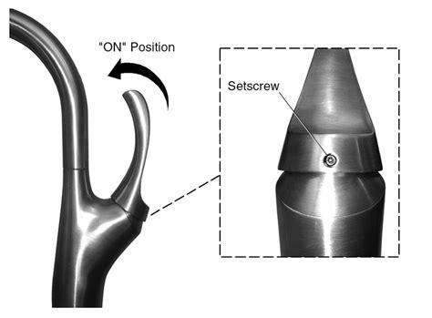kohler kitchen faucet repair loose handle