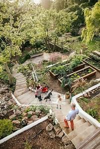20, Sloped, Backyard, Design, Ideas