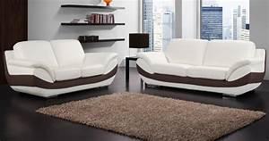 canape bruno personnalisable sur univers du cuir With canapé moderne cuir