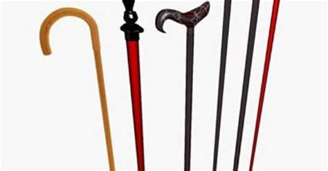 Different Types Handles Of Walking #sticks .