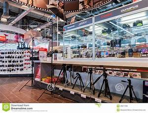 Interior Of The Electronics Shop M-Video In Samara, Russia ...