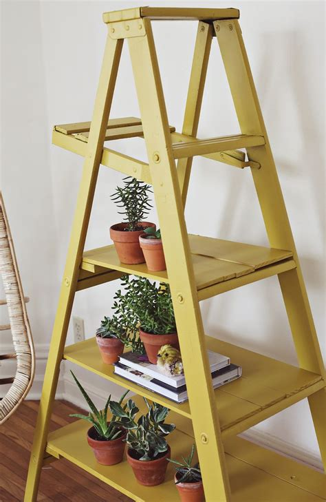 ladder display shelf nesting ladder display makeover a beautiful mess