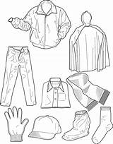 Coloring Colouring Clothing Clothes Winter Dresses Printable Sheet Drawing Cloth Printables Sheets Outfit Intheplayroom Colorings Step Pdf Shirts Coat Warm sketch template