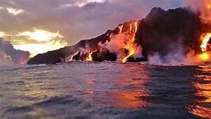 Hawaii Island Volcanoes And The Hawaiian Eruption