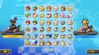 Deluxe Mario Kart 8 All Characters