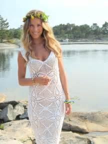 wedding dresses vera wang the crocheted wedding dress