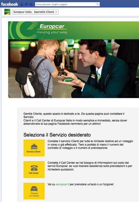 europcar si鑒e social europcar sportello clienti via cavalli vapore