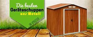 Geräteschuppen Aus Metall : 5 ger teschuppen aus metall im test f r deinen garten 2019 ~ Buech-reservation.com Haus und Dekorationen