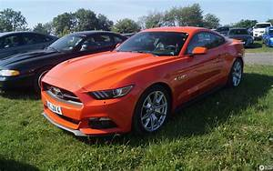 Ford Mustang GT 50th Anniversary Edition - 26 May 2018 - Autogespot
