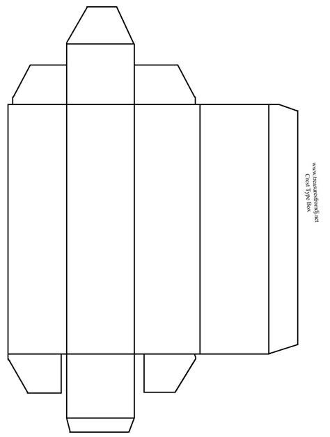 large rectangle box template angela fletcher creefest