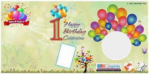 1st birthday banner background design 28 images With first birthday banner template