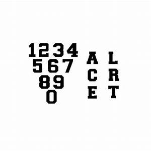 reflective numbers letters solid black 2 1 4quot With reflective letters for fire gear