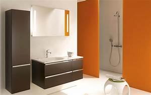 41 idee deco salle de bain noir et blanc idees for Idee deco cuisine avec deco murale nordique