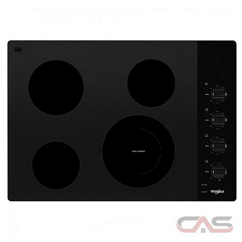 wceushb whirlpool cooktop canada  price reviews  specs toronto ottawa montreal
