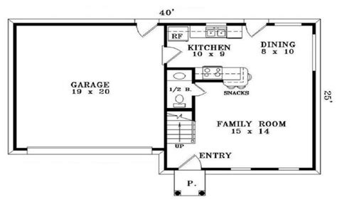 simple small house floor plans  bedrooms simple small