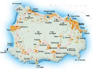 Ischia Island Italy Map