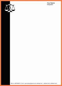 Download Format Resume 11 Advocate Letterhead Templates Company Letterhead