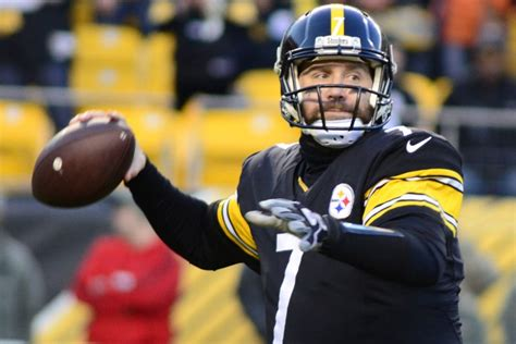ben roethlisberger leads pittsburgh steelers players