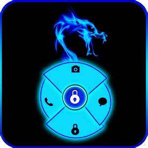 Blue Neon Dragon Go Locker Android Apps on Google Play