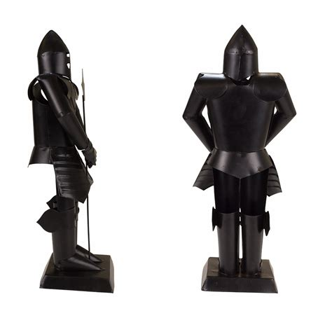 Decorative Suit Of Armor by Suit Of Armor Medieval Knight Black Finish Decorative