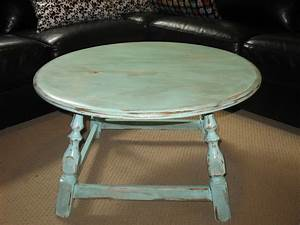 blue round coffee table 50 sold ladybird39s vintage With 50 round coffee table