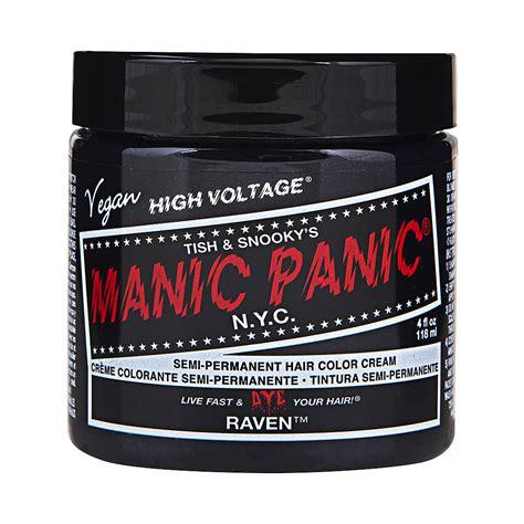 manic panic color manic panic high voltage classic black hair dye