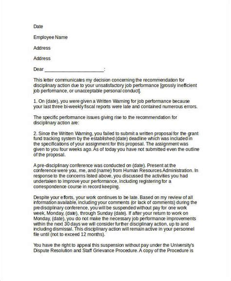 notice letter examples    examples