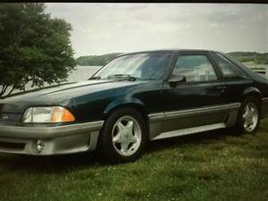 92 Mustang GT 5.0 V8 racing supercharged low miles green tko 3.55