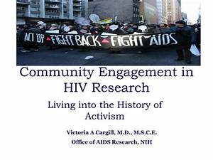 PPT - Community Engagement in HIV Research PowerPoint ...