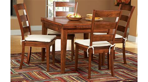 Melbourne Tobacco 7 Pc Square Dining Set  Dining Room