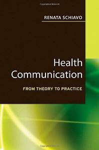 Download  Health Communication  From Theory To Practice