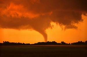 Tornado Sunset Photograph by Jason Politte