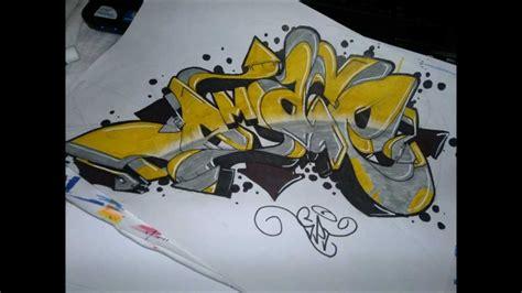 Graffiti Tutorial :  Basic Bars/letter Structure