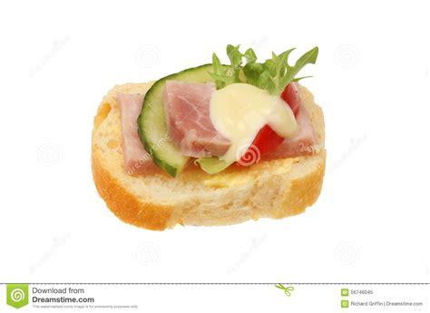 canapé français the gallery for gt slice of ham